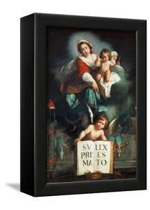 The Madonna of Justice by Bernardo Strozzi
