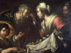 The Miracle of St. Zita by Bernardo Strozzi
