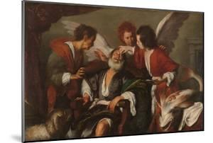 Tobias Curing His Father's Blindness, 1630-35 by Bernardo Strozzi