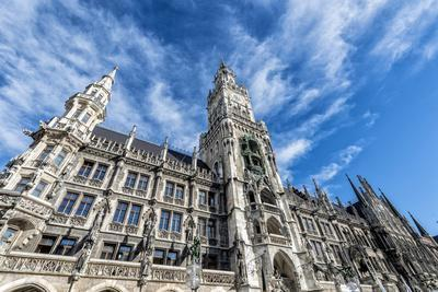 Munich, Bavaria, Germany, New Town Hall at Marienplatz (Mary's Square