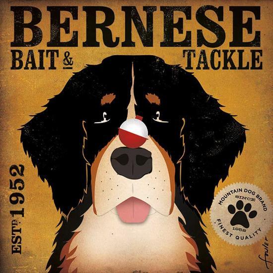 Bernese Bait & Tackle-Stephen Fowler-Art Print