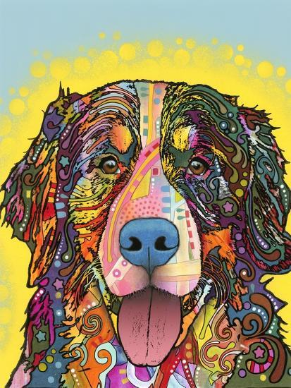 Bernese Mountain Dog-Dean Russo-Giclee Print