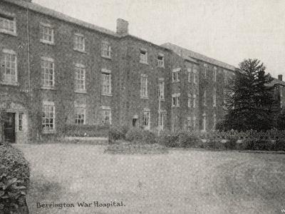 Berrington War Hospital, Atcham, Shropshire-Peter Higginbotham-Photographic Print