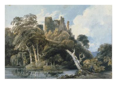 Berry Pomeroy Castle, Devon, c.1797-Thomas Girtin-Giclee Print