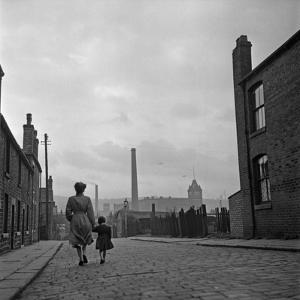 Lancashire Mill Town by Bert Hardy