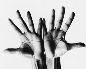 Vogue - April 1968 - Outstretched Hands by Bert Stern