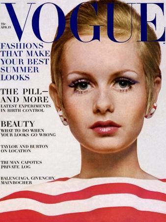 Vogue Cover - April 1967