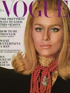 Vogue Cover - November 1966 by Bert Stern