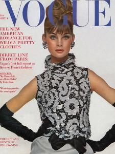 Vogue Cover - September 1963 by Bert Stern