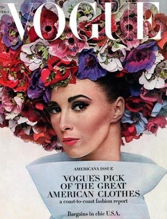 Vogue - February 1964 - Hat In Bloom