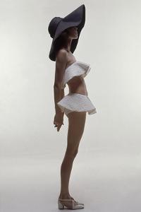 Vogue - June 1969 - Model Wearing Givenchy Swimwear by Bert Stern