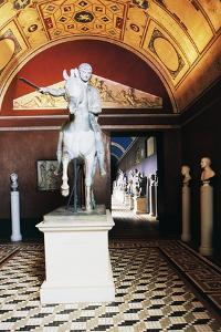 Equestrian Monument to Prince Jozef Poniatowski (1763-1813) by Bertel Thorvaldsen