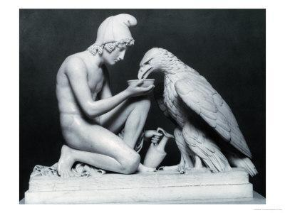 Ganymede with the Eagle of Jupiter, 1817