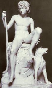 Shepherd Boy, 1817 by Bertel Thorvaldsen