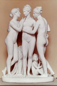 The Three Graces by Bertel Thorvaldsen