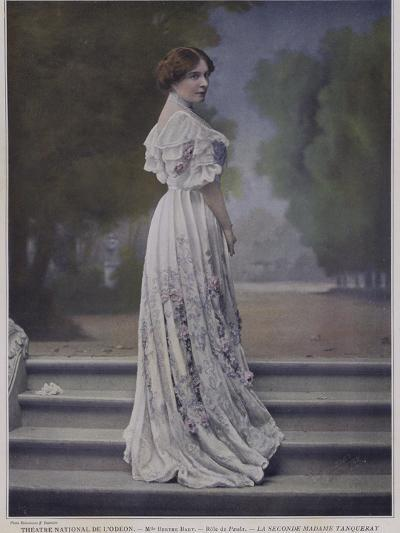 Berthe Bady as Paula in the Second Mrs Tanqueray--Photographic Print