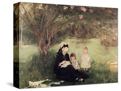Beneath the Lilac at Maurecourt, 1874
