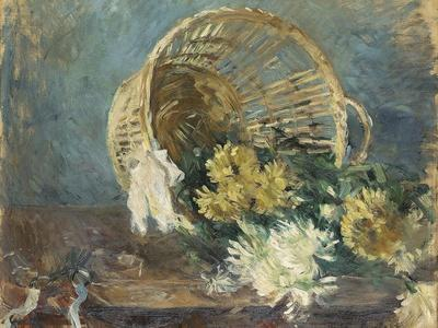Chrysanthemums or the Overturned Basket, 1885