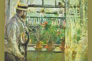 Eugene Manet on the Isle of Wight by Berthe Morisot