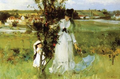 Hide and Seek by Berthe Morisot