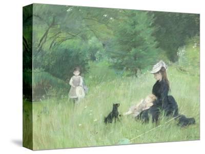 In a Park, circa 1874