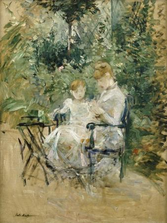 In the Garden; Dans Le Jardin, C.1885 by Berthe Morisot