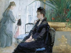 Interior, 1872 by Berthe Morisot