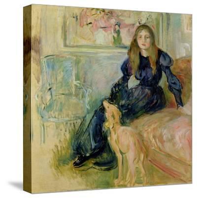 Julie Manet (1878-1966) and Her Greyhound Laerte, 1893