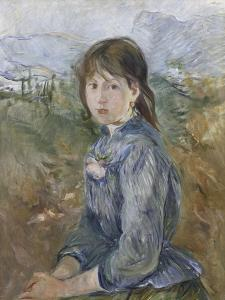 La petite niçoise, Célestine by Berthe Morisot
