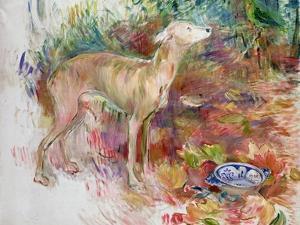 Laerte the Greyhound, 1894 by Berthe Morisot