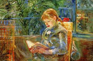 Little Girl by Berthe Morisot