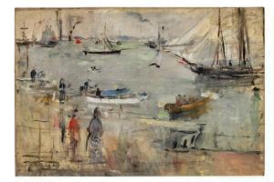 Marine en Angleterre, 1875 by Berthe Morisot