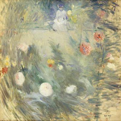 Nanny at the End of the Garden; Nourrice Au Fond D'Un Jardin, 1880