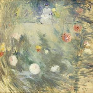 Nanny at the End of the Garden by Berthe		 Morisot