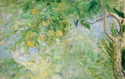 Orange Tree Branches, 1889 by Berthe Morisot