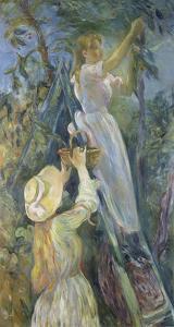 Picking Cherries, 1891 by Berthe Morisot