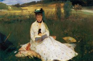 Reading by Berthe Morisot
