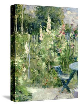 Roses Tremieres (Hollyhocks), 1884