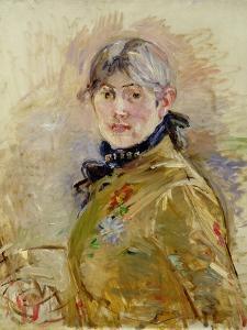 Self Portrait, 1885 by Berthe Morisot