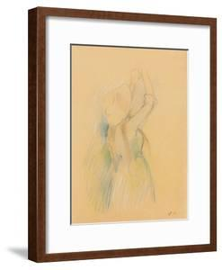 Study for Le cerisier, 1891 by Berthe Morisot by Berthe Morisot