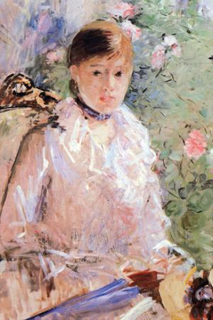 Summer (Young Woman at the Window) by Berthe Morisot