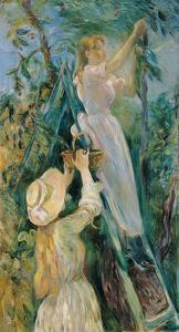 The Cherry Picker by Berthe Morisot
