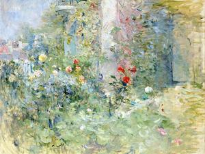 The Garden at Bougival, 1884 by Berthe Morisot