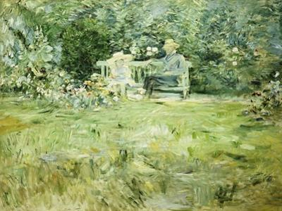 The Gardening Lesson, 1886 by Berthe Morisot
