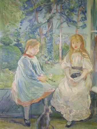 Two Girls at a Window, 1892 by Berthe Morisot