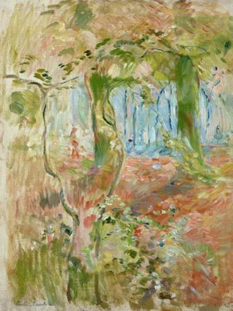 Undergrowth in Autumn, 1894 by Berthe Morisot