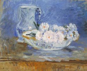 White Flowers by Berthe Morisot