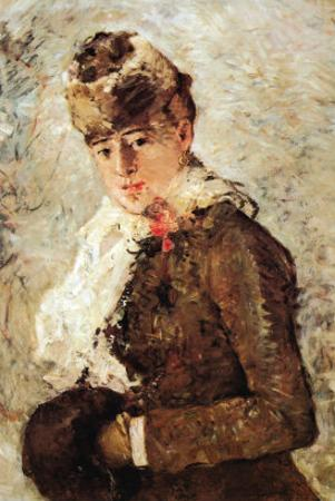 Winter Coat by Berthe Morisot