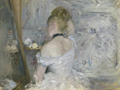 Woman at Her Toilette, 1875-80 by Berthe Morisot