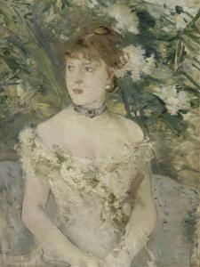 Young Girl in a Ball Gown, 1879 by Berthe Morisot